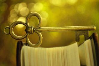 Ключ в книге для гадания